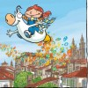 Postal infantil 6: Santiago de Compostela