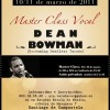 Master Class con Dean Bowman