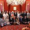 Santiago recibe la visita de una amplia delegación de Tanabe