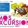 'Vamos de excursión': Programa de viajes y excursiones 2013