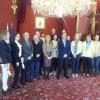 Norwegian and Itaian participants in Certo European project visit Santiago