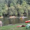 Paseo en piragua y barcas típicas del Ulla