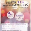 PIC (Proxecto Integral Compostela) III Anniversary Party