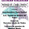 Concierto: 'Música e Poesía nas letras galegas'