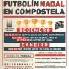 'Futbolín Nadal en Compostela'