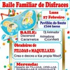 Baile familiar de disfraces