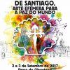 Alfombras no Camiño de Santiago, arte efémero para a paz no mundo