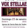 XXI 'Jornadas alrededor de la Camelia': Concierto de Vox Stellae