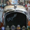 Traditional exhibition of vintage cars