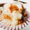 Variegated scallop with Repinaldo apple frappe