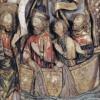 Santiago. Detalle del retablo de John Goodyear