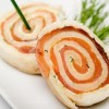 Spiral Smoked Salmon in Butter Sauce