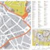 Plano de compras de Santiago de Compostela