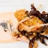 Norway lobster skewer