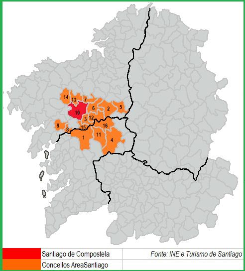 Plano Área Santiago